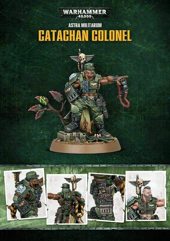 Catachan Colonel, Astra Militarum Warhammer 400000